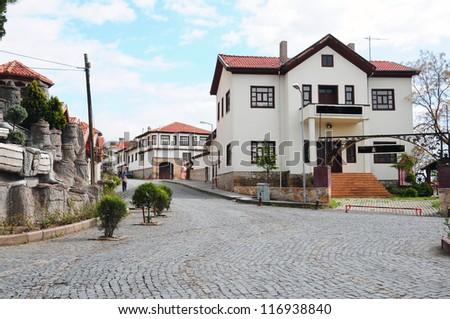 town in anatolia, Turkey