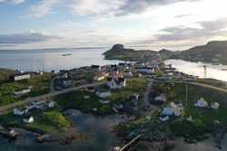 Town of Fogo, on Fogo Island, Newfoundland and Labrador