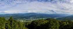 Town of Unicoi Tennessee Panorama