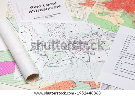 Town planning and land use planning - Local town planning plan - Simplified modification - Approval file - General sheet