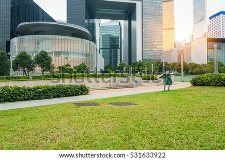 town square in Shenzhen,China. #531633922
