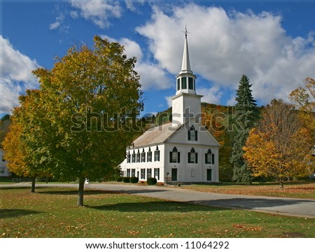Townshend Vermont in Autumn