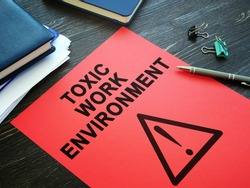 Toxic Work Environment complain report in the office.