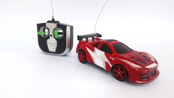 Toy car and remote control