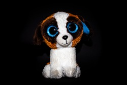 Toy dog Teddybear with big eyes