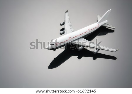 Toy Plane with Reflection