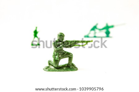 toy soldiers  soviet army. red...