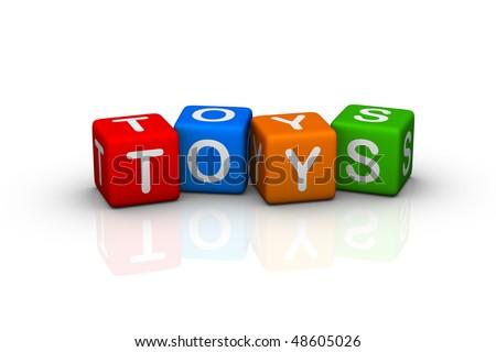 toys  (buzzword cubes series)