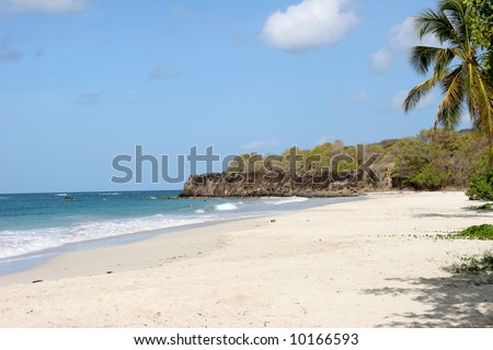 Trabaud beach, Martinique, Caribbean