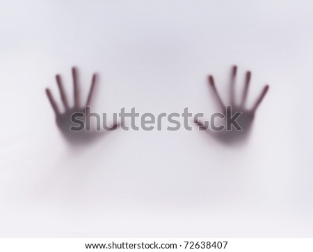 Trace of hands
