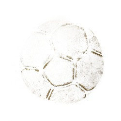Trace soccer ball