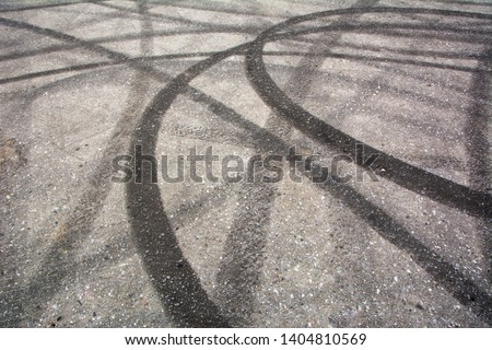 Tyre Burnout Marks On Road Images And Stock Photos Page