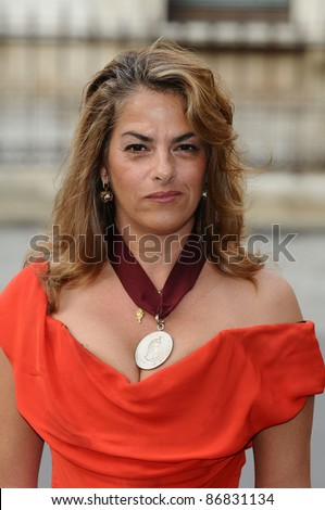 Tracey Emin arrives for the RAA Summer exhibition launch party at the Royal Academy of Arts, Piccadilly, London 02/06/2011  Picture by: Steve Vas / Featureflash