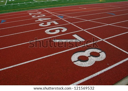 Track and Field Lanes