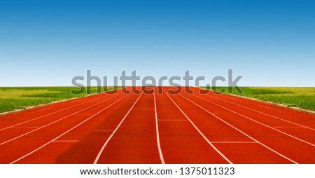 track , Athlete Track or Running Track
