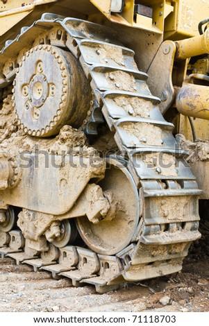 Track bulldozer