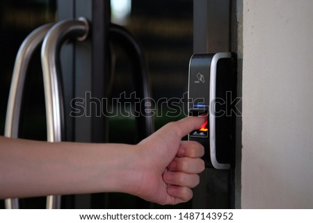 Track Employee Hours and Door Access Using Biometric Fingerprint Scanner.