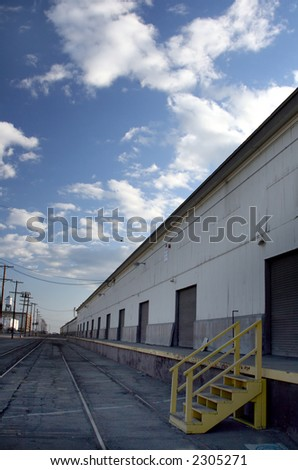 tracks at the warehouse #2305271