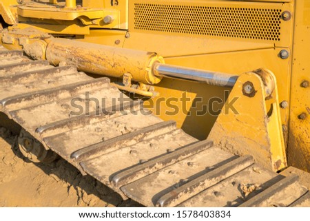 Tractor heavy equipment track tread gear #1578403834