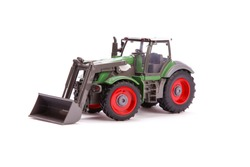 Tractor. Toy tractor.