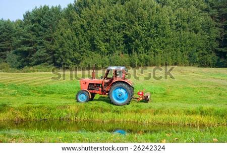 Tractors, harvest