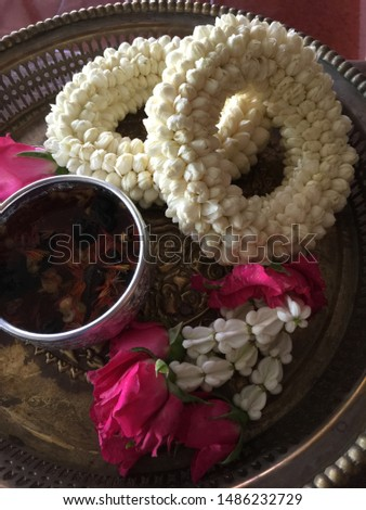 Tradition Thai Style Jasmin and roses #1486232729