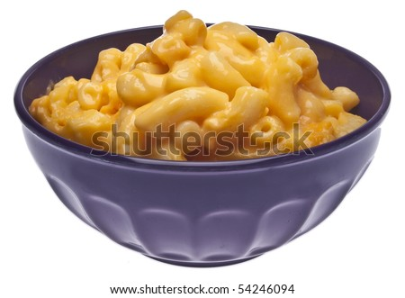 Traditional American Favorite Food Macaroni and Cheese. - stock photo