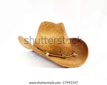 Traditional American hat of cowboy