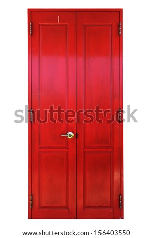 traditional antique wooden door ...