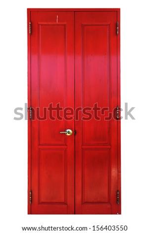 traditional antique wooden door ...
