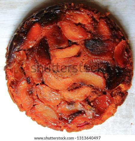 Traditional apple pie, studio picture