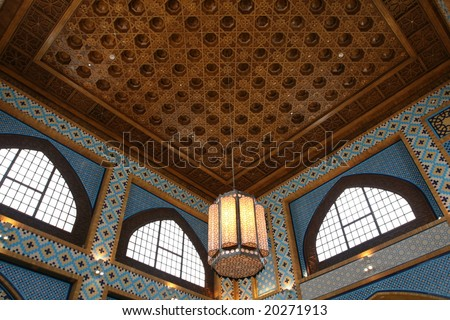 Arab Interior Design http://www.shutterstock.com/pic-20271913/stock-photo-traditional-arabic-interior-design.html