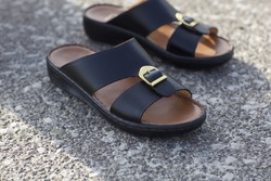 Traditional Arabic sandals for Arabian mans
