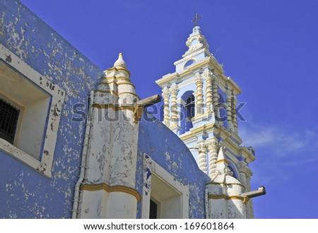Traditional Architecture in Puebla Mexico