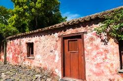 Traditional architecture of Colonia del Sacramento in Uruguay