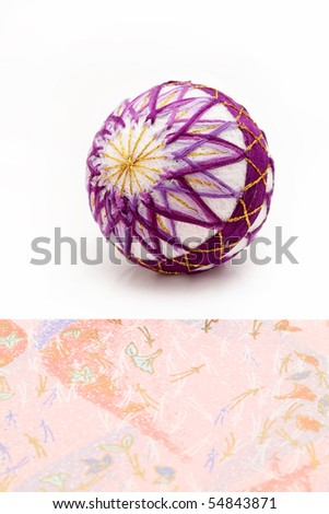 Traditional ball of Japan