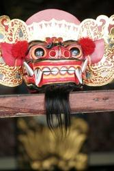 Traditional Barong mask in Bali, Indonesia