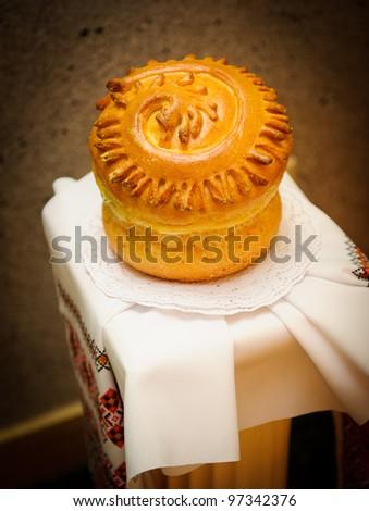 Traditional bread - stock photo