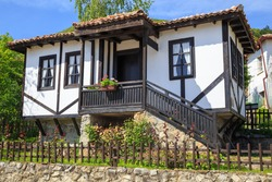 Traditional bulgarian house from the mid-19th century.