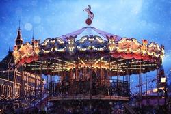 traditional carousel