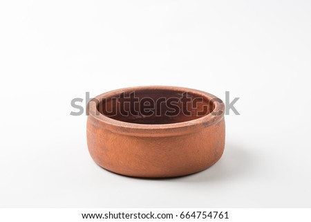 Shutterstock Traditional Casserole on White Background