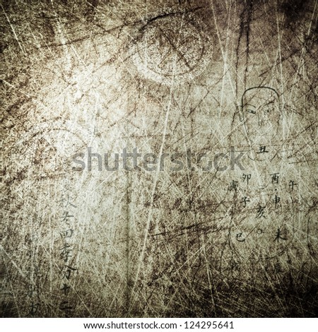 traditional Chinese ancient culture grunge background