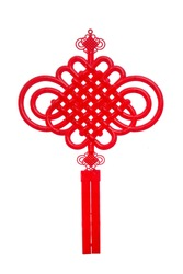 Traditional Chinese decorative knot, also known as Chinese knot, is typical folk arts of China.