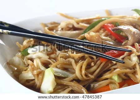 Traditional chinese noodles