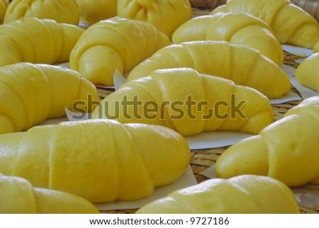 Traditional Chinese potato bun
