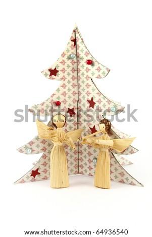 traditional Christmas decoration - stock photo