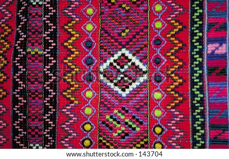 Traditional cloth from the Mam Indians (Guatemala)