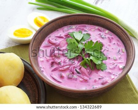 суп из свеклы рецепт с фото