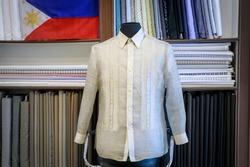 Traditional Costume Barong Tagalog