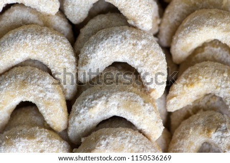 Czech Christmas Cookies Traditional And Delicious Candy Images And